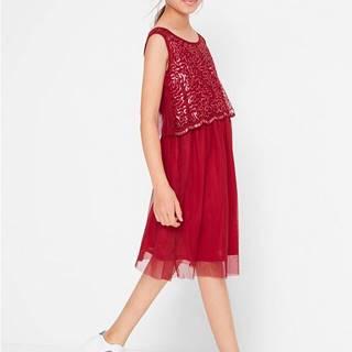 Šaty na párty s flitrami