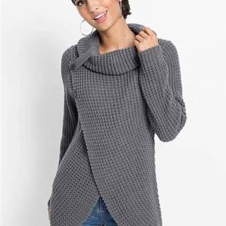Pletený pulóver s gombičkami