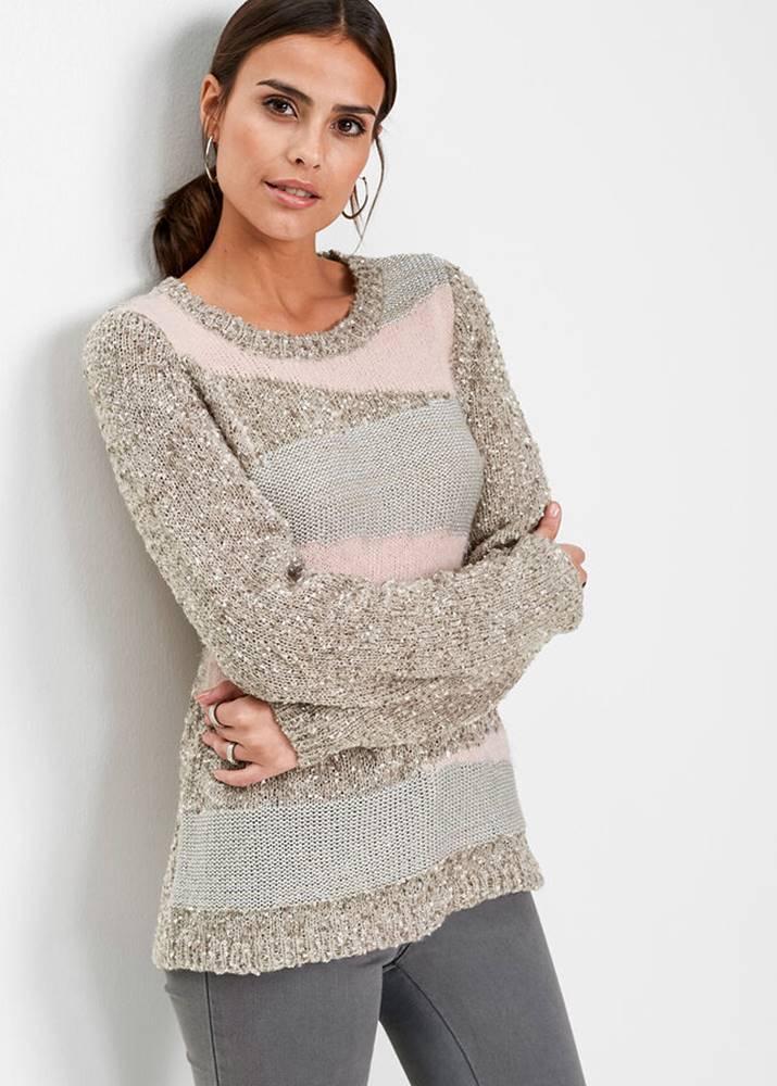 Flaušový pulóver