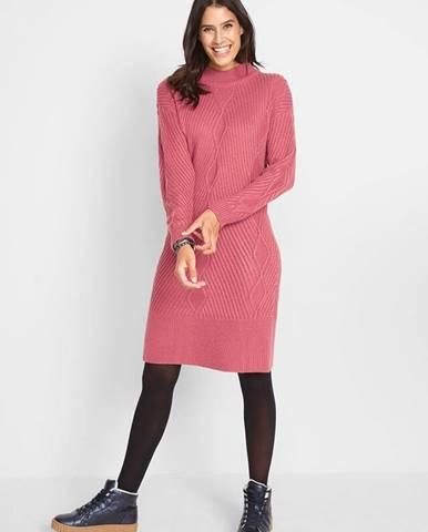 Oversize-šaty so vzorom