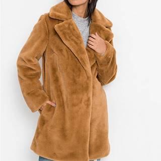 Mäkká dlhá bunda, umelá kožušinka