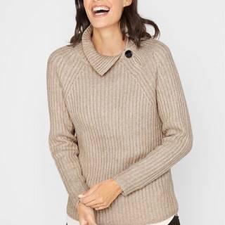 Pletený sveter s gombíkmi