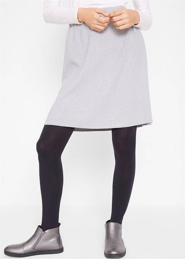 Pletená sukňa, mierne rozší...
