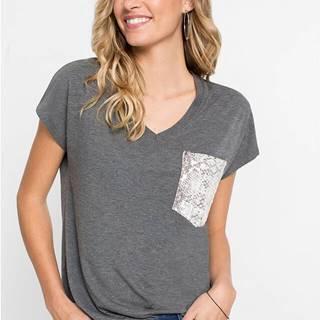 Oversize-tričko s vreckom