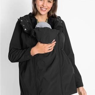 Materská softshellová bunda, nastaviteľná šírka