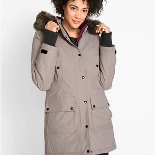 Funkčná outdoorová dlhá bunda s kapucňou