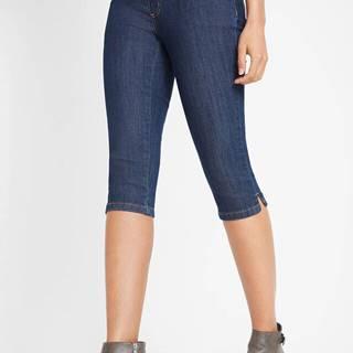 Capri džínsové legíny, komfort-streč, dvojdielne balenie
