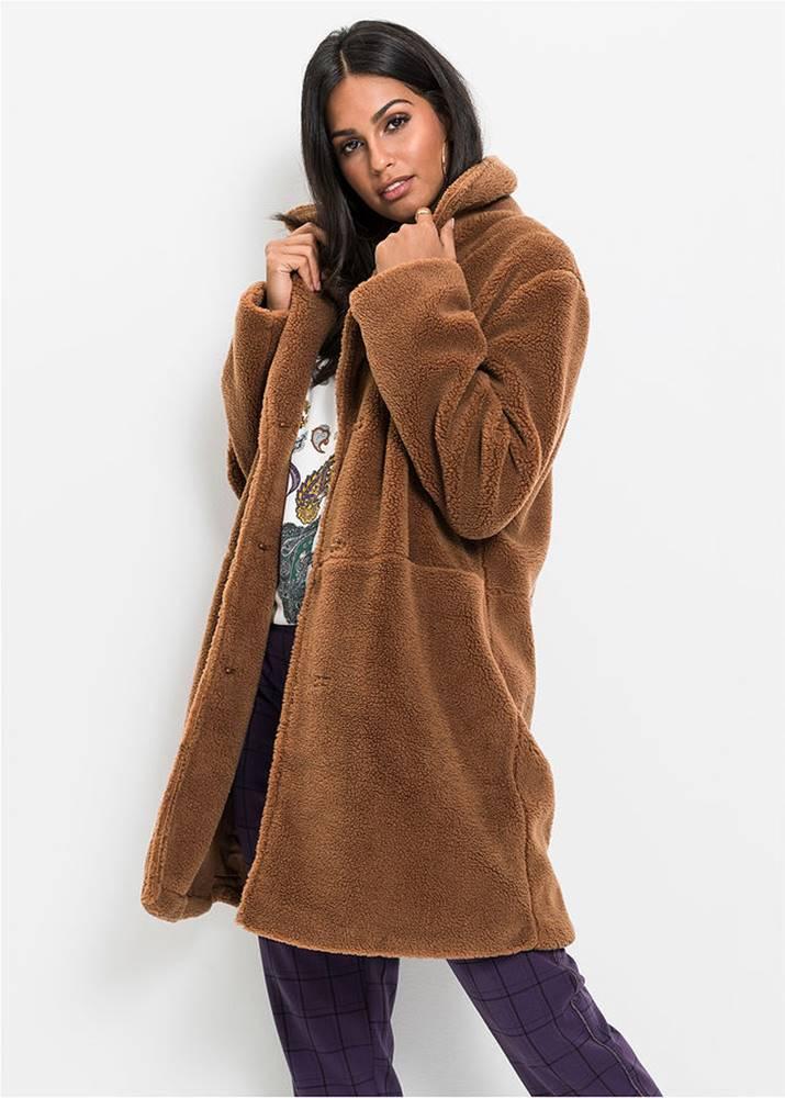 Kožušinkový kabát