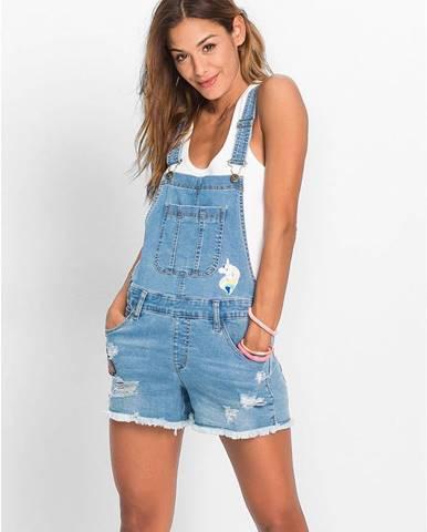 Krátke džínsy na traky