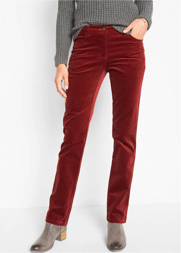 Strečové kordové nohavice