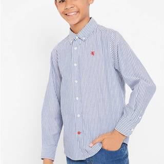 Pásikovaná košeľa s dlhým rukávom