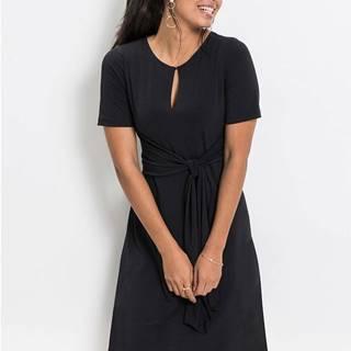 Džersej šaty s uzlíkom: MUST HAVE
