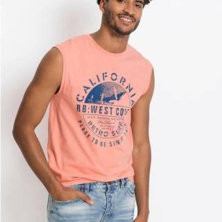Tričko bez rukávov Slim Fit
