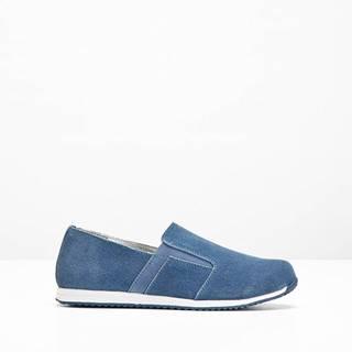Kožené topánky slip in