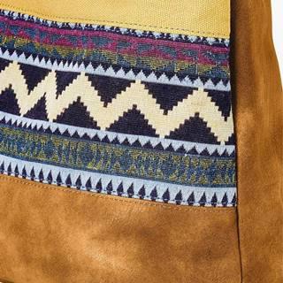 Denim etno taška