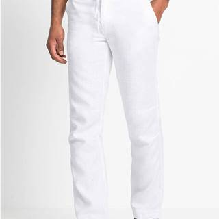 Plátené nohavice Regular Fit Straight