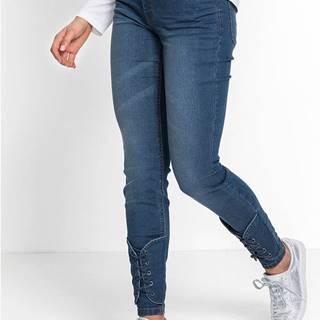 Super Skinny džínsy so šnurovačkou