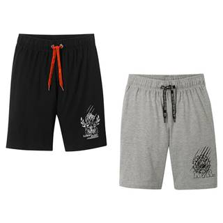 Úpletové krátke nohavice (2 ks v balení)