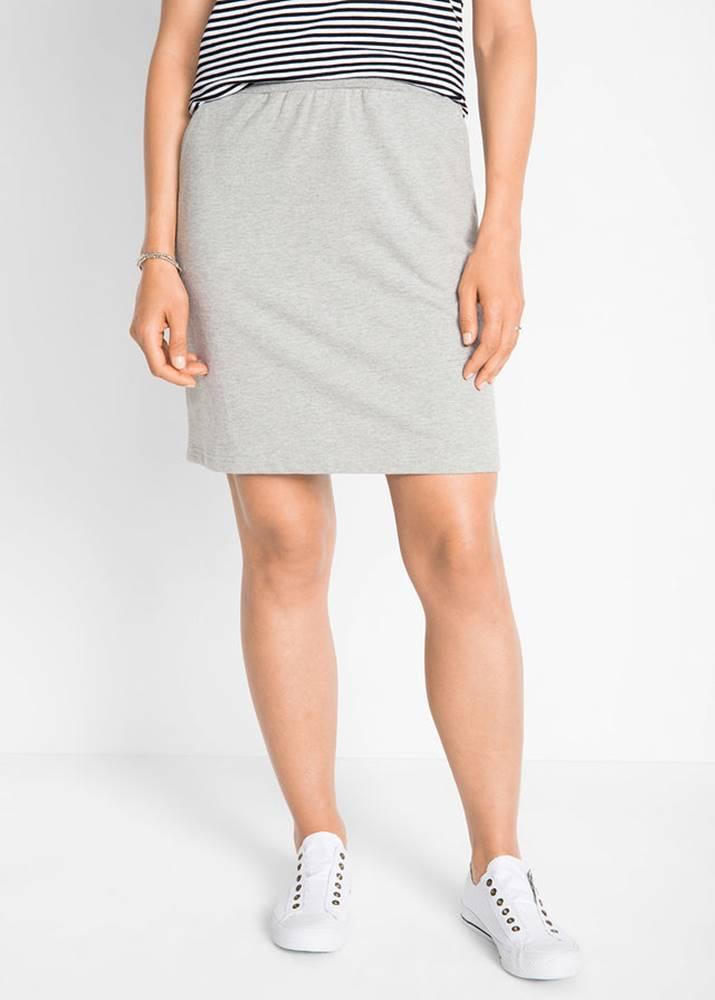 Mikinová sukňa
