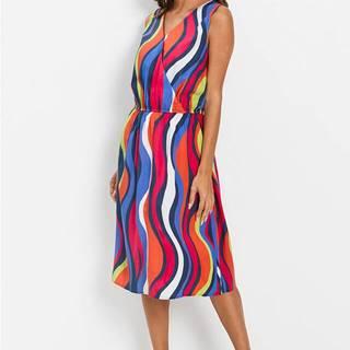 Šaty s pásikmi