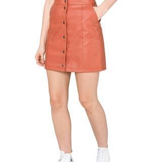 Vero Moda Conner Ray Sukňa Červená Oranžová