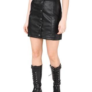 Vero Moda Conner Ray Sukňa Čierna