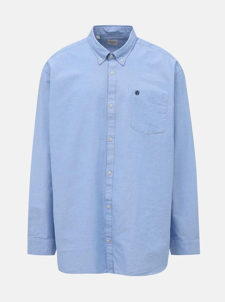 Svetlomodrá regular fit košeľa Selected Homme Collect