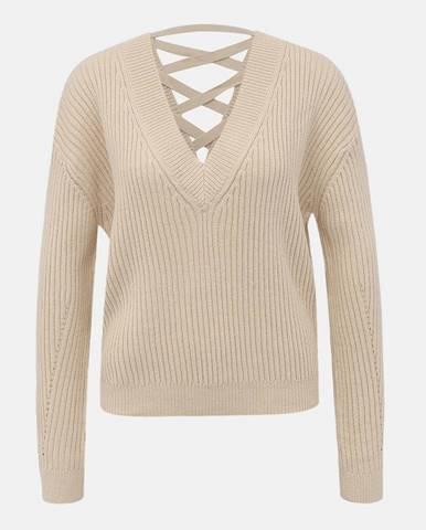 Béžový sveter TALLY WEiJL