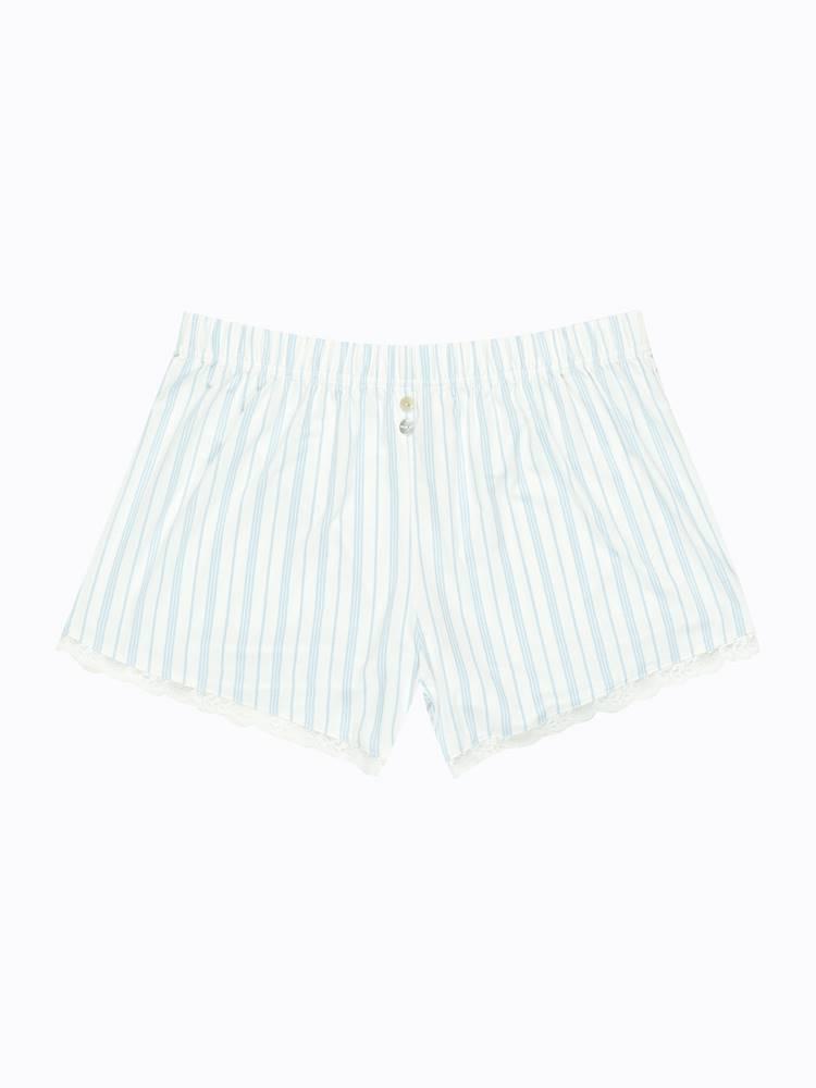Prúžkované pyžamové šortky
