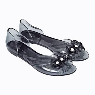 Sandále s kvetinami
