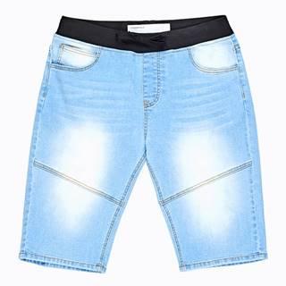 Denimové šortky s pružným pásom