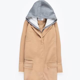 Kabát s odopínateľnou kapucňou