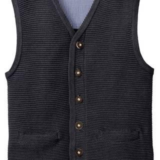 Krojová pletená vesta