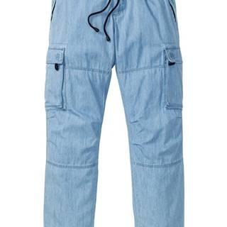 Voľné džínsy letnom denim Loose Fit rovnom strihu