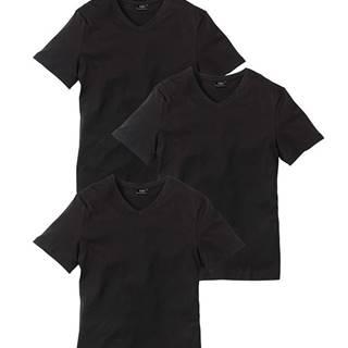 Tričko s V-výstrihom 3ks v balení