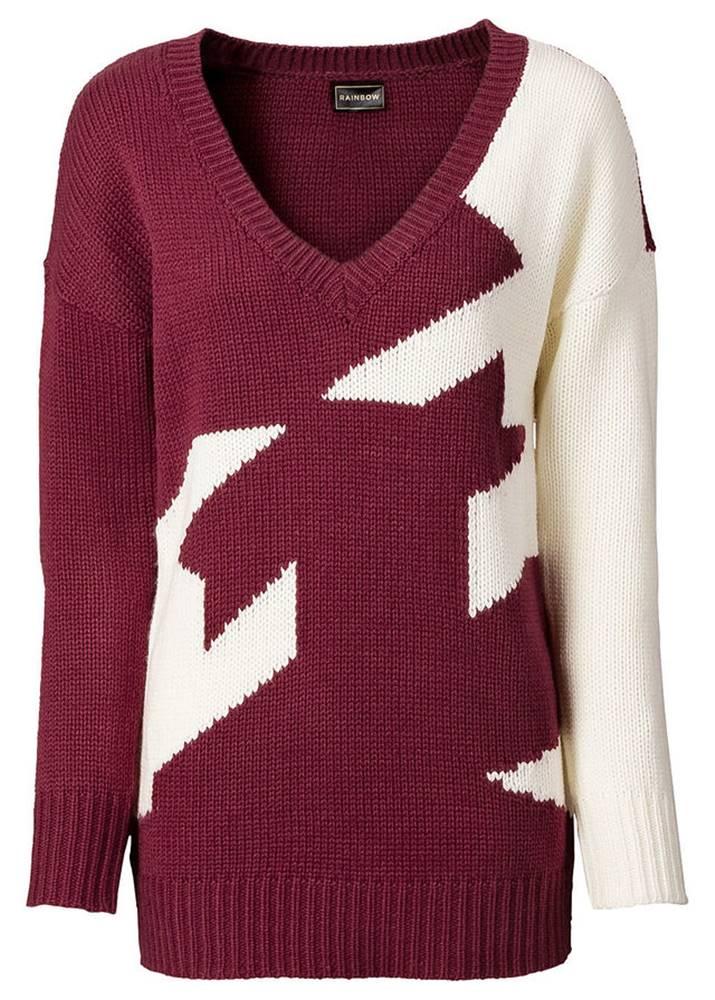 Pletený pulóver