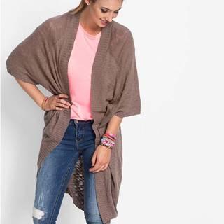 Pletený sveter, vzhľad ručného pletenia