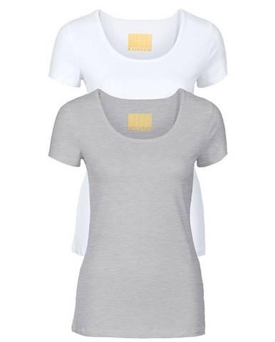 Dámske tričko 2 ks, okrúhly výstrih