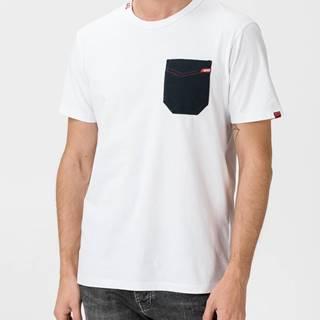 Tričko GAS Juby/R Pocket Biela