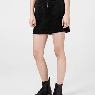 Cordatine Sukně Vero Moda Čierna