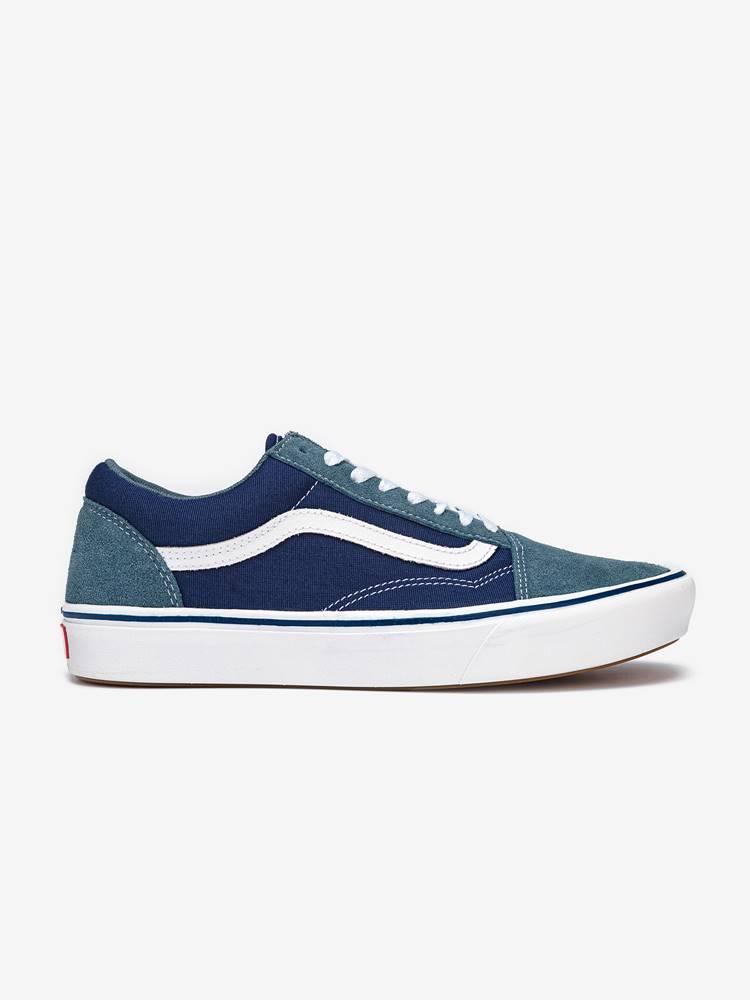 Topánky Vans Ua Comfycush Old S (Suede/Textile) Modrá