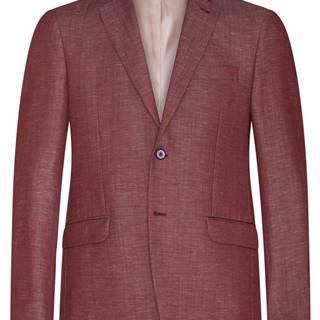 Pánske sako  červená