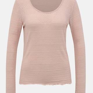 Ružové vzorované tričko VERO MODA Hazel