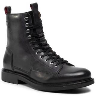 Šnurovacia obuv Gino Rossi MI08-C585-145-05 Prírodná koža(useň) - Lícova