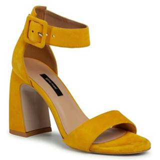 Sandále Gino Rossi DNK208 Prírodná koža(useň) - Zamš