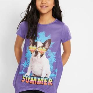 Tričko s foto potlačou a cípmi