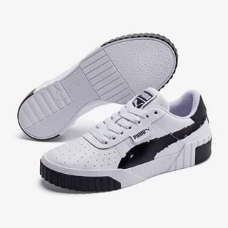 Topánky Puma Cali Brushed Wn S Biela