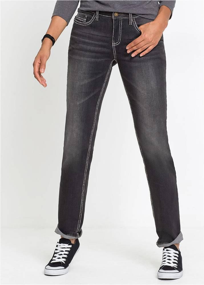 Multi-strečové džínsy, rovné