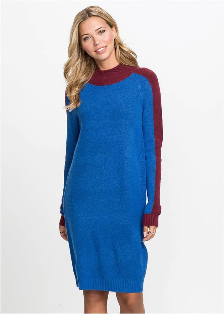 Pletené šaty v štýle Colour...