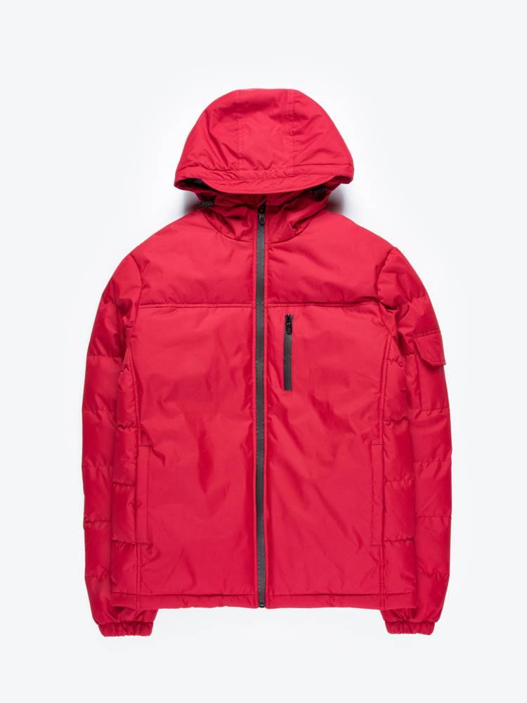 Vatovaná bunda s kapucňou